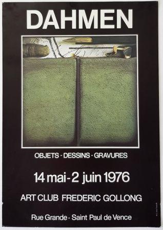 Offset Dahmen -  Galerie Frederic Gollong St Paul de Vence