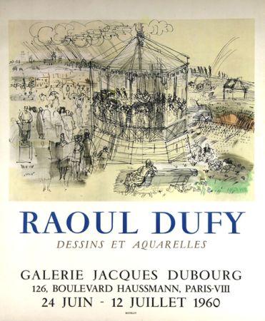 Litografia Dufy - Galerie Jacques Dubourg