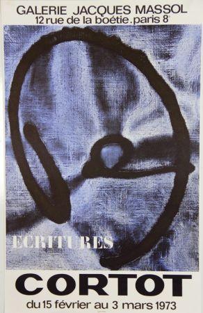 Litografia Cortot - Galerie Jacques Massol  1973