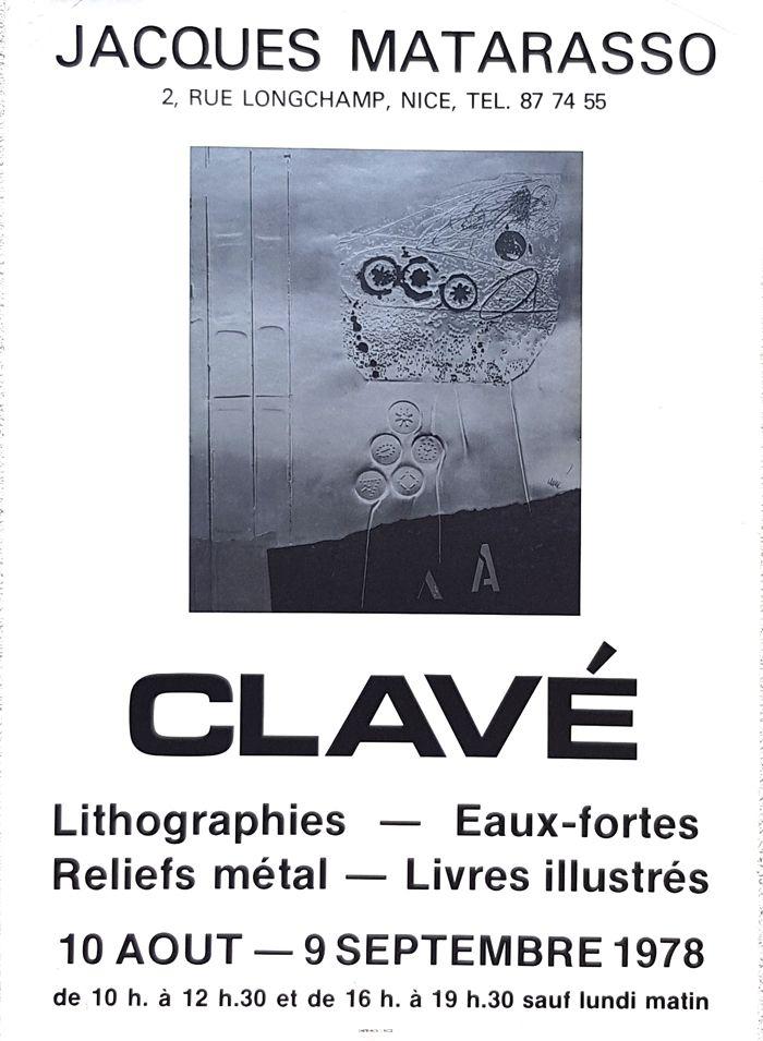 Offset Clavé - Galerie Jacques Matarosso