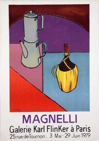 Litografia Magnelli - Galerie Karl Flinker