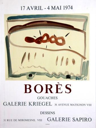 Litografia Bores - Galerie Kriegel