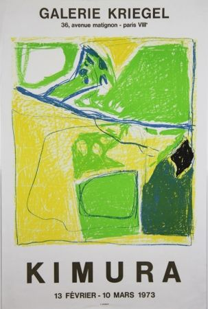 Litografia Kimura - Galerie Kriegel
