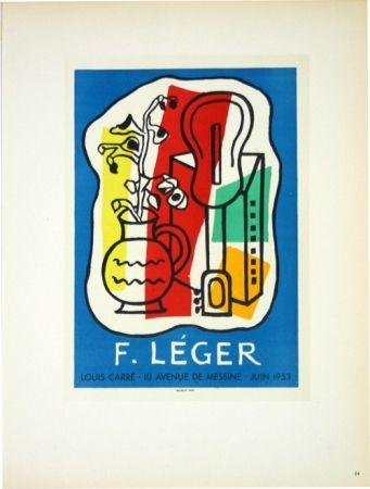 Litografia Leger - Galerie Louis Carré