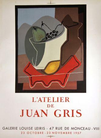 Litografia Gris  - Galerie Louise Leiris