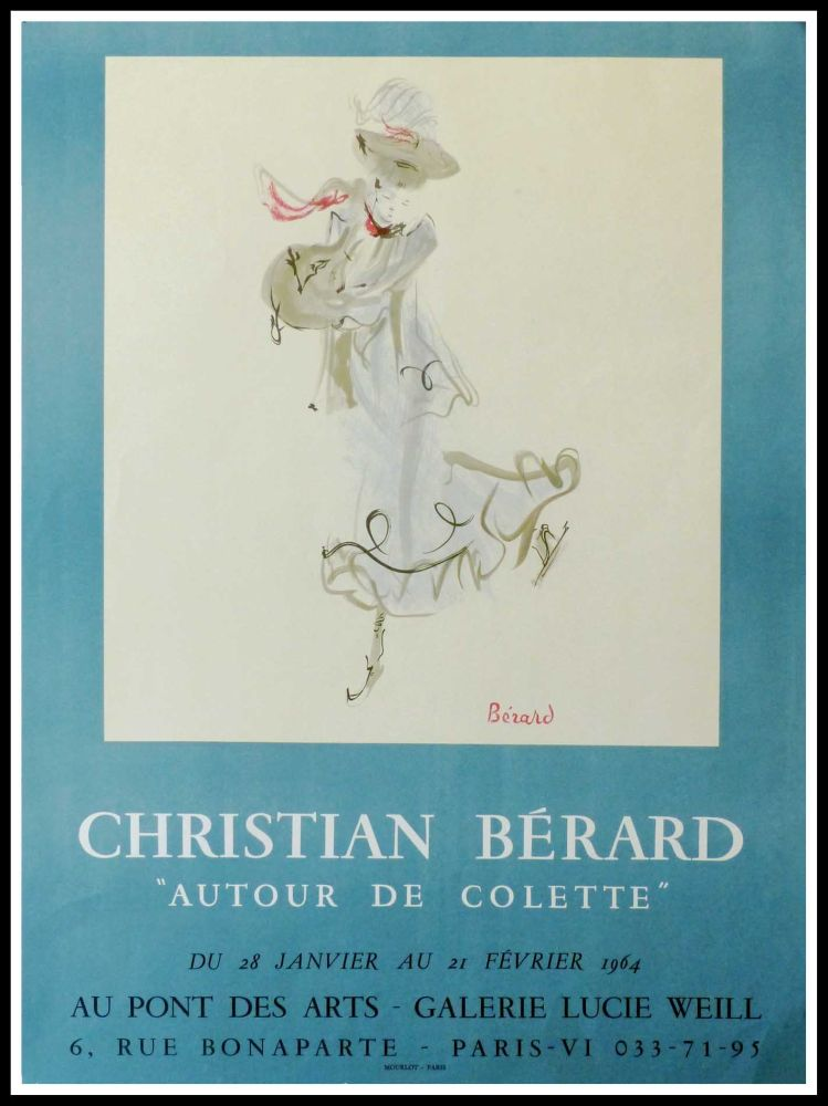 Manifesti Berard - GALERIE LUCIE WEILL - ATOUR DE COLETTE