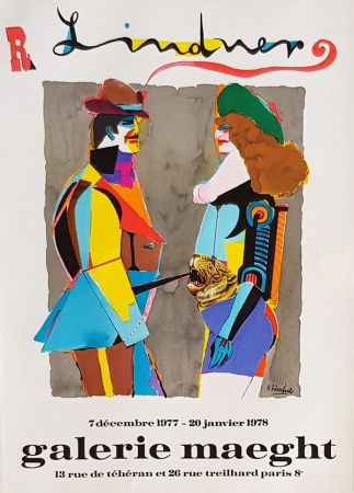 Litografia Lindner - Galerie  Maeght