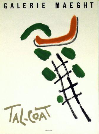 Litografia Tal Coat - Galerie Maeght