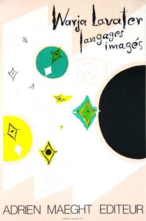 Litografia Lavater - Galerie Maeght   Langages  Imagés
