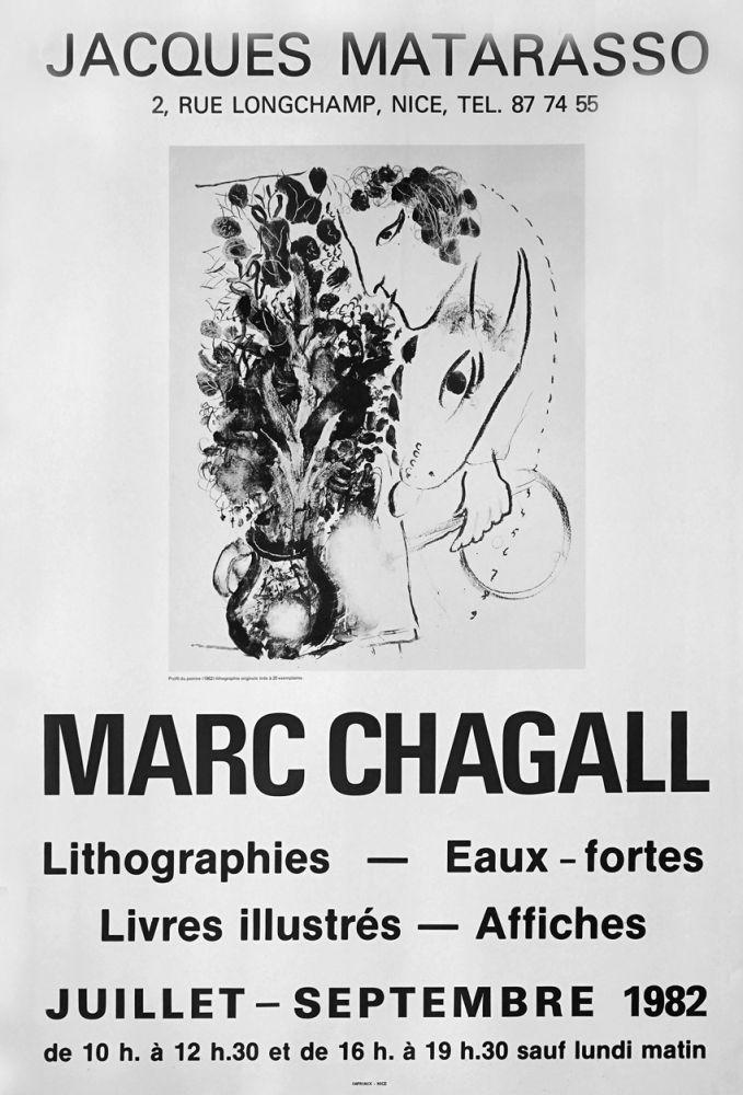 Manifesti Chagall - '' Galerie Matarasso ''
