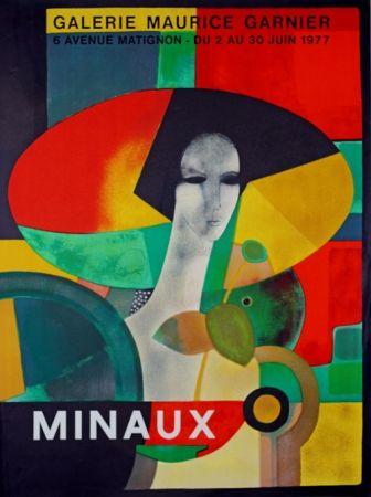 Litografia Minaux - Galerie Maurice Garnier