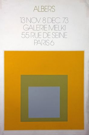 Litografia Albers - Galerie Melki