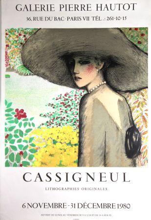 Litografia Cassigneul  - Galerie Pierre Hautot