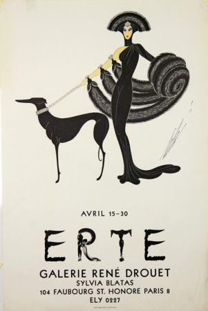Litografia Erte - Galerie Rene Drouet