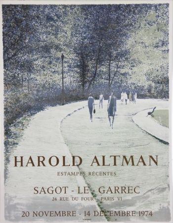 Litografia Altman - Galerie Sagot Le Garrec