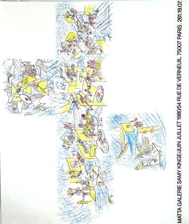 Litografia Matta - Galerie Samy Kinge