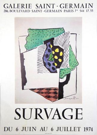 Manifesti Survage - Galerie St Germain