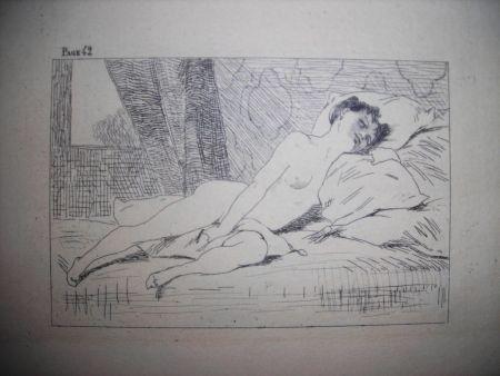 Acquaforte Rops - Gamiani ou deux nuits d'exces