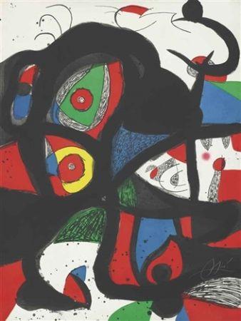 Acquaforte E Acquatinta Miró - Gargantua