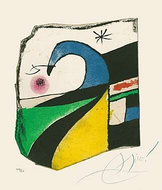 Acquatinta Miró - Gaudí X
