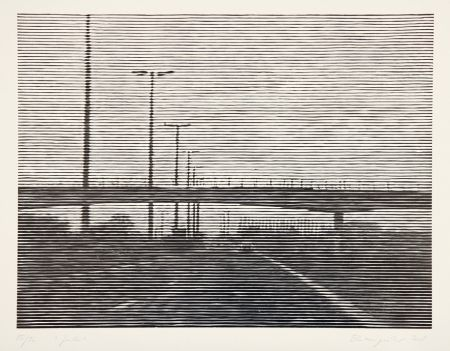 Incisione Su Legno Baumgartner - Gent
