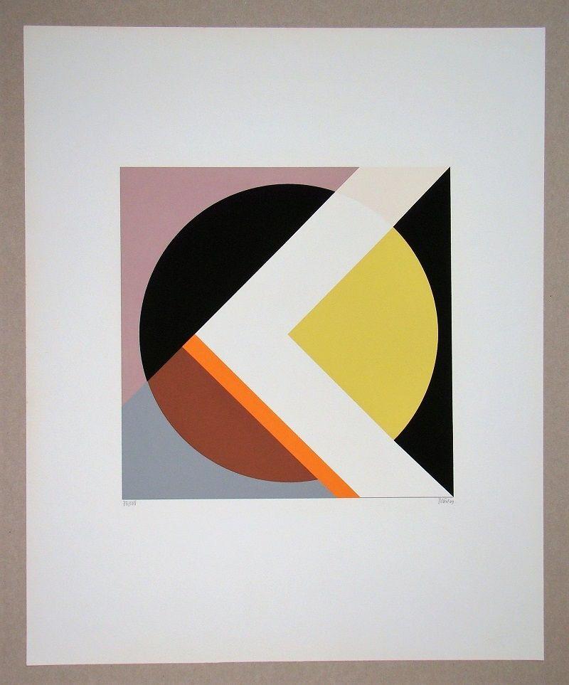 Serigrafia Dexel - Geometrische Komposition