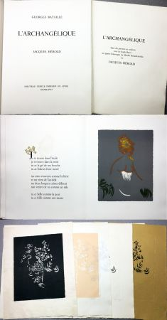 Libro Illustrato Herold - Georges Bataille : L'ARCHANGÉLIQUE. Notes sur Georges Bataille par Patrick Waldberg.