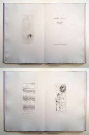 Libro Illustrato Bellmer - Georges Bataille : Madame Edwarda. 12 gravures originales signées (1965).