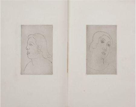 Libro Illustrato Derain - Georges Gabory : LA CASSETTE DE PLOMB. Deux gravures originales et inédites par André Derain (1920)