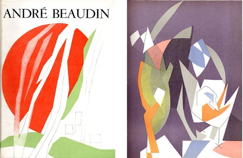 Libro Illustrato Beaudin - Georges Limbour : ANDRÉ BEAUDIN, avec 9 lithographies originales en couleurs (1961).