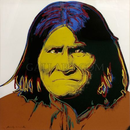 Serigrafia Warhol - GERONIMO FS II.384