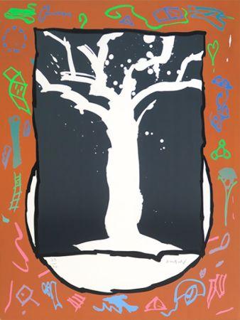 Litografia Alechinsky - Ghost