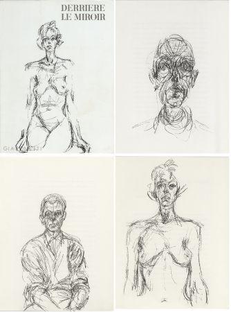 Libro Illustrato Giacometti - GIACOMETTI. DERRIÈRE LE MIROIR N°127. Mai 1961