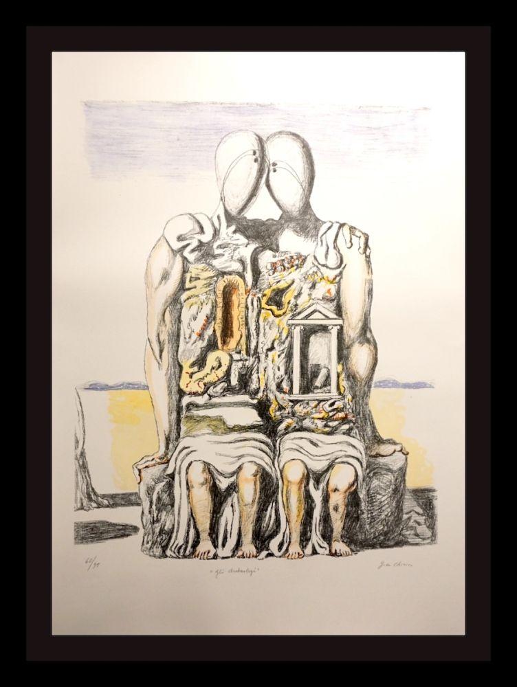 Litografia De Chirico - Gil Archeology