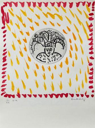 Incisione Alechinsky - Gille de Binche