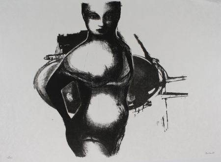 Litografia Butler - Girl
