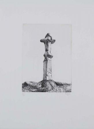 Acquaforte Moore - Glenkiln Cross