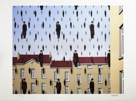 Litografia Magritte - Golconde