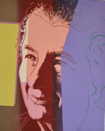 Serigrafia Warhol - Golda Meir (FS II.233) Trial Proof
