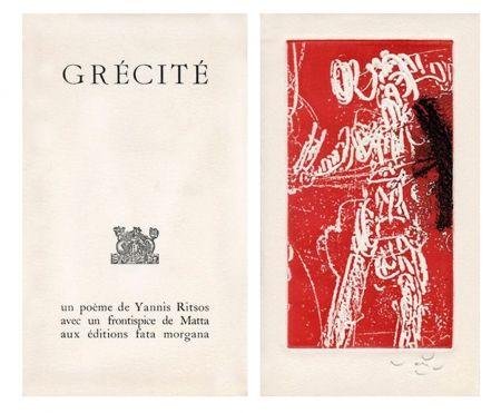 Libro Illustrato Matta - Grécité