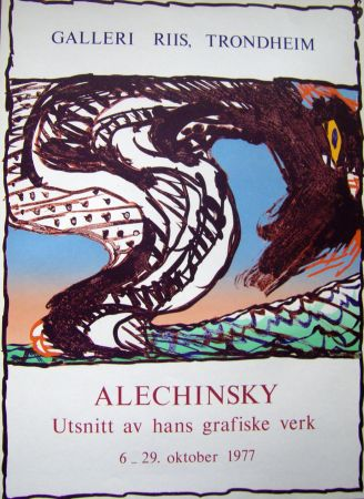 Manifesti Alechinsky - Grafiske verk