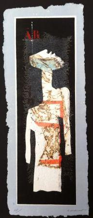 Incisione Coignard - Grand mannequin debout