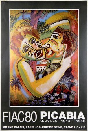 Offset Picabia - Grand Palais  Fiac 80