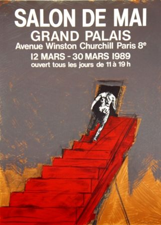 Litografia Velickovic - Grand Palais Salon D'Automne