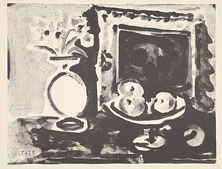 Litografia Picasso -