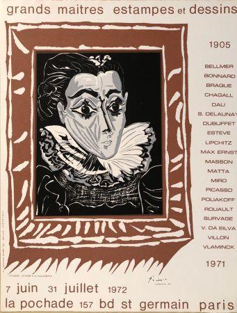 Manifesti Picasso - Grands Maîtres Estampes Et Dessins 1905 - 1972 - Galerie La Pochade, 7 Juin - 31 Juillet,1972