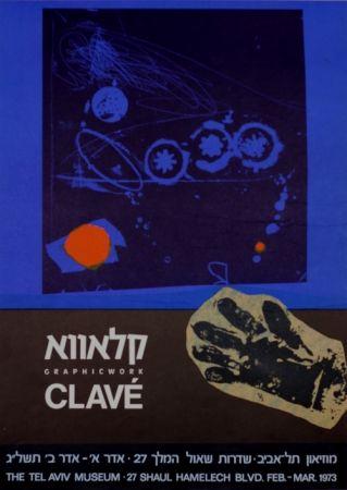 Manifesti Clavé - Graphic Work MuseeTel Aviv 1973