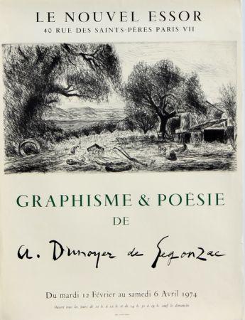 Manifesti De Segonzac - Graphisme et Poésie
