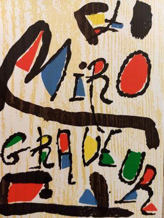 Libro Illustrato Miró - Graveur 1