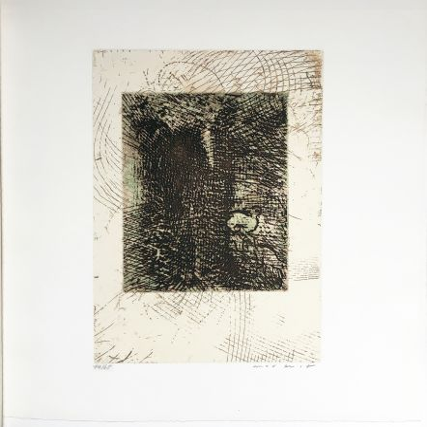 Acquaforte E Acquatinta Ernst - Gravure pour Antonin Artaud : TEXTE UND BRIEFE (1967)